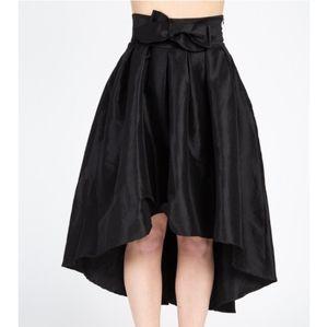 Woven Taffeta Skirt,